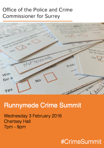 Runnymede Crime Summit Digital