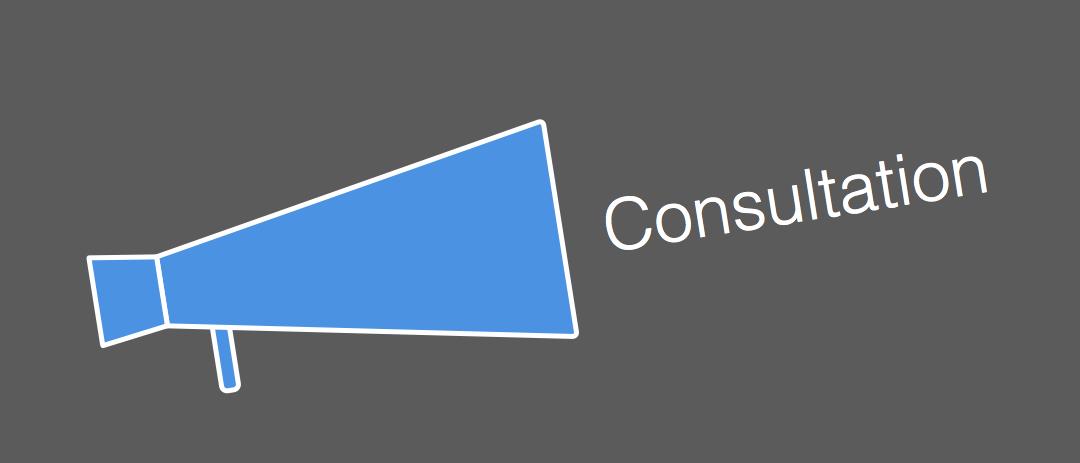 Consultation banner