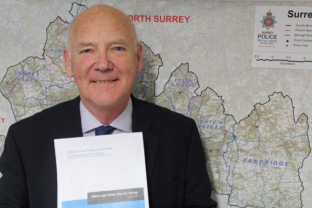 The PCC launches his Police and Crime Plan for the next four years