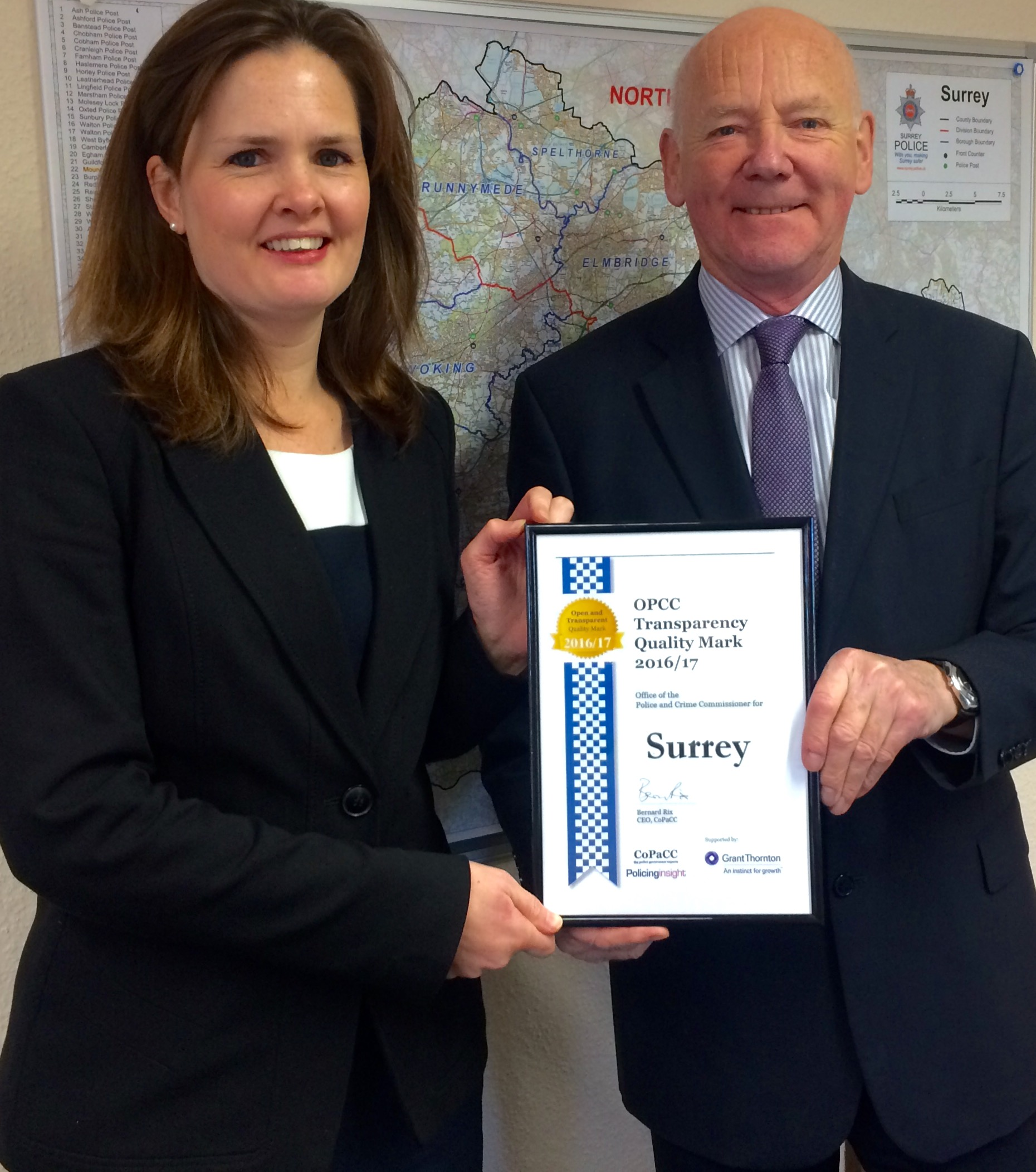 PCC and Alison Bolton - Transparency Quality Mark