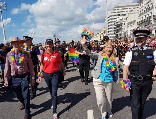 """Bold, beautiful & brilliant"" – PCC joins revellers on the colourful streets of Brighton"