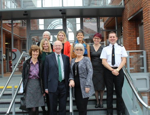 PCC welcomes Victims' Commissioner Baroness Newlove to Surrey