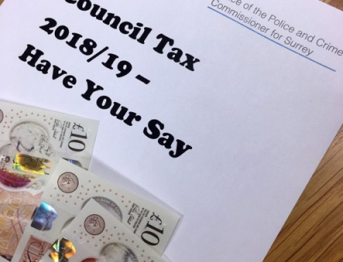 Council Tax 2018/19 – Have your say on proposed police funding
