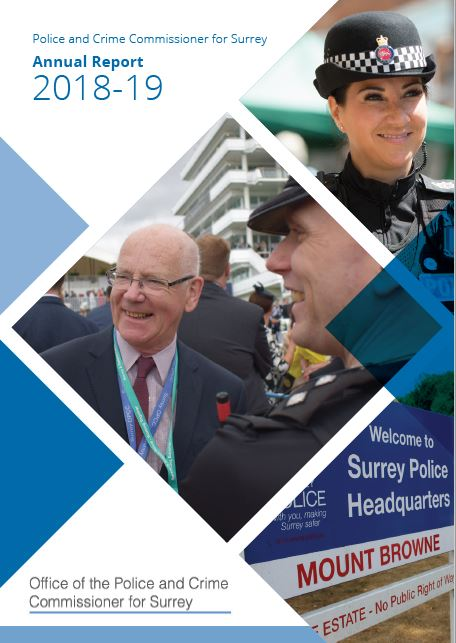 PCC publishes his Annual Report for 2018/19