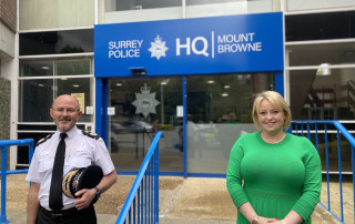 PCC Lisa Townsend and Chief Constable Gavin Stephens