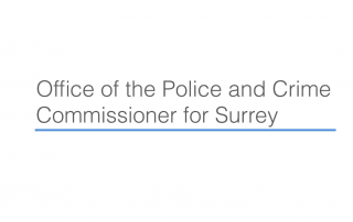 Logo of the Office of the Police and Crime Commissioner for Surrey